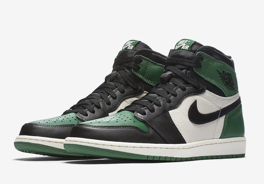 Nike Air Jordan 1 Retro High OG Pine Green Size 15. 555088-302