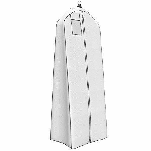 """20/"""" Gusset for Large Bridal and Prom Dresses Wedding Gown Gusseted Garment Bag"""