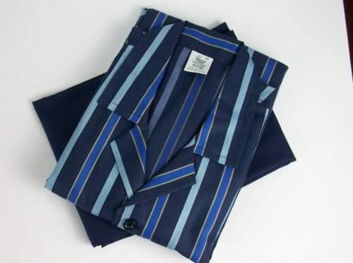 tessuto cotone uomo 100 in calibrato Italia Taglie blu forti e Pigiama prodotto di in agwfxgEI