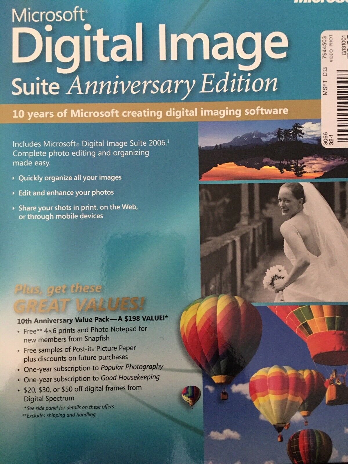 Buy Ms Digital Image Suite 2006 With Bitcoin
