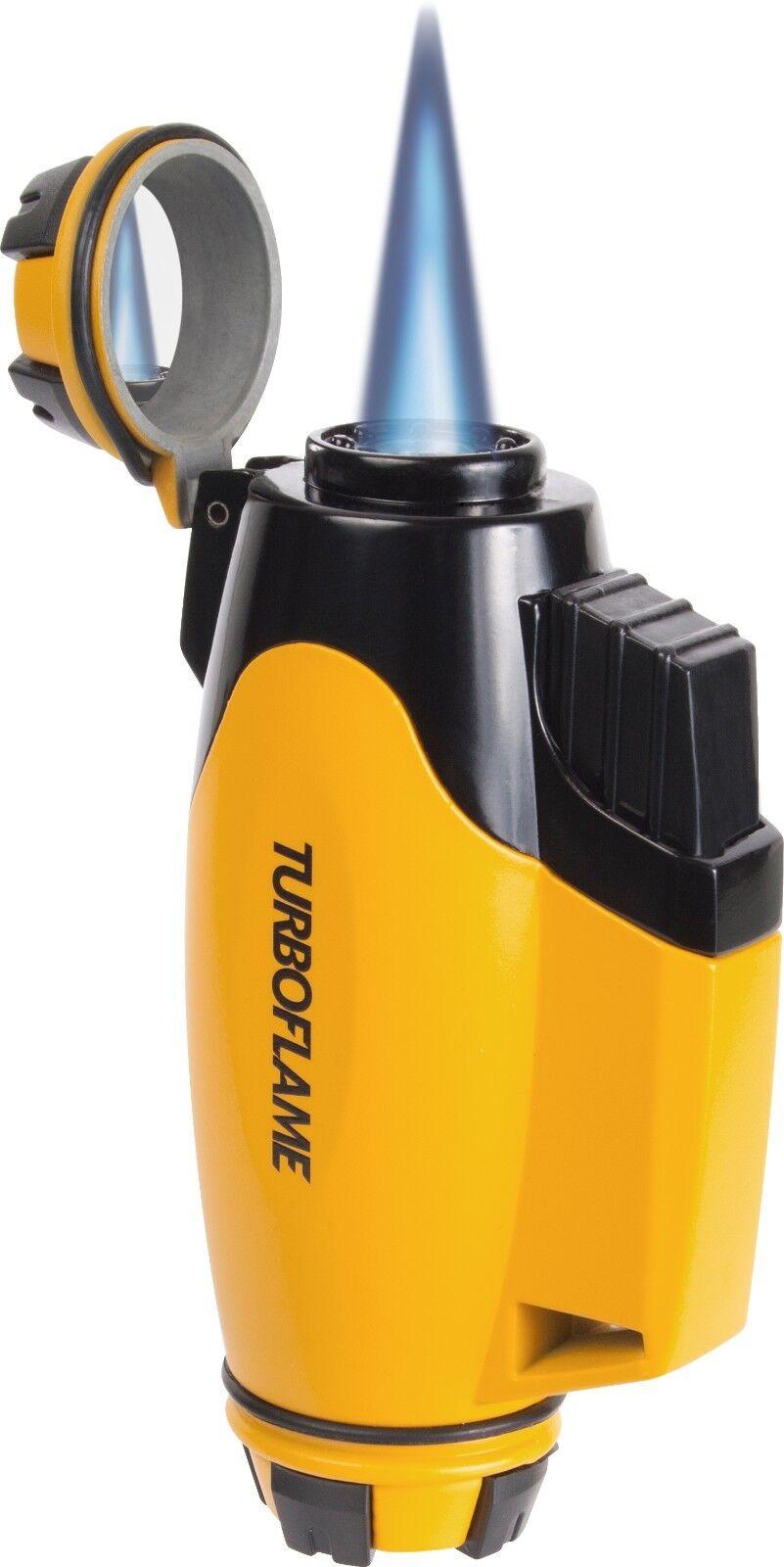 Nouveau Turboflame phoenix bourdon jaune Vent Résistant Résistant Résistant Jet Torch Flame lighter a2df02