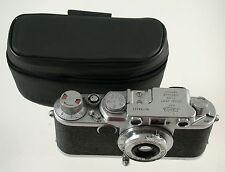 Original Leica Leitz Tasche Case Etui Leather Leder IIIf IIf IIIc IIc If (7)