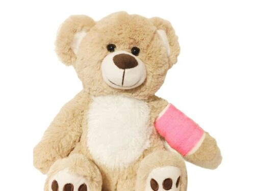 Broken Arm Stuffed Animal