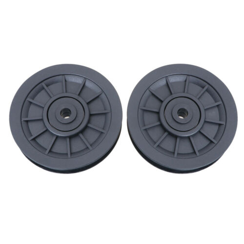 2Pcs Pulley Wheel Gym Pully Wheel Wearproof Pulley Gym Accessories for Equipment