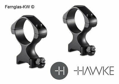 Hawke 34mm Steel Precision Weaver//Picatinny Rifle Scope Mount Rings HIGH 23022