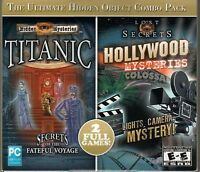 Hidden Mysteries: Titanic -- Secrets of the Fateful Voyage (Windows/Mac, 2009) Video Games