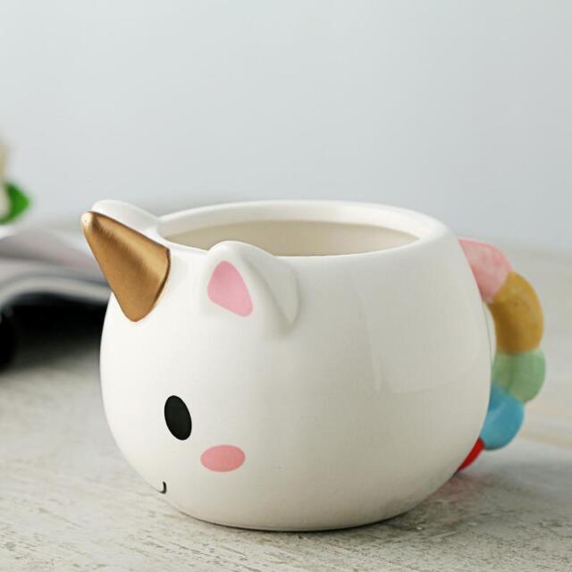 China Unicorn Coffee Milk Water Mugs Cup Ceramic Personalised Cartoon Novelty