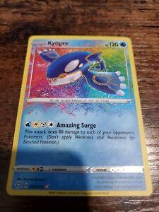 Kyogre Amazing Rare 021/072 Shining Fates (NM)(Mint)