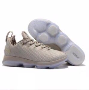 Nike Lebron XIV Low Light Bone 878636-004 Basketball Shoes Men s  a52f5be3c