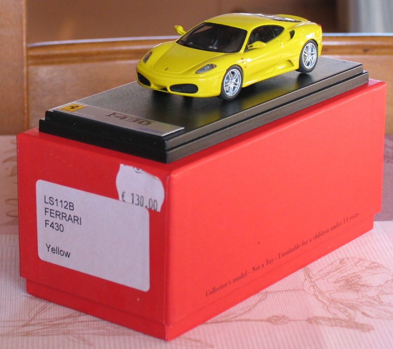 Looksmart Ferrari F430 giallo LS112B