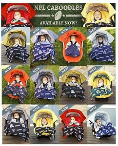 NFL-Whole-Caboodle-5pc-CarSeat-Canopy-for-Baby-car-seat-Licensed-Football-Teams