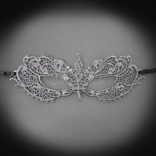 Lace Masquerade Mask Inspired Anastasia Lace Mask for Women LM0601 Gray