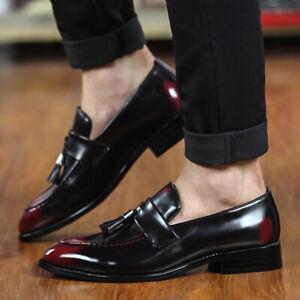 Details zu Herren Business Herrenschuhe Leder Klassische Abend Spitze Anzug Halbschuhe