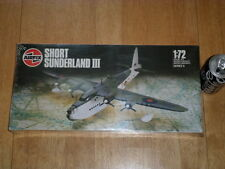 WW#2, SHORT SUNDERLAND III - Reconnaissance Plane, Plastic Model Kit,Scale:1/72