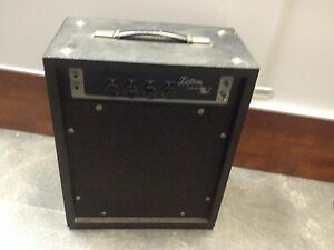 vintage kustom v lead guitar amplifier 1 12 combo model v l solid state ebay. Black Bedroom Furniture Sets. Home Design Ideas
