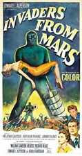 Invaders From Mars Poster 03 A2 Box Canvas Print