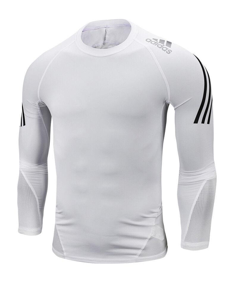 Adidas Alphaskin Sport 3S Tee (DW8484) Soccer Running Gym Compression TShirt Top