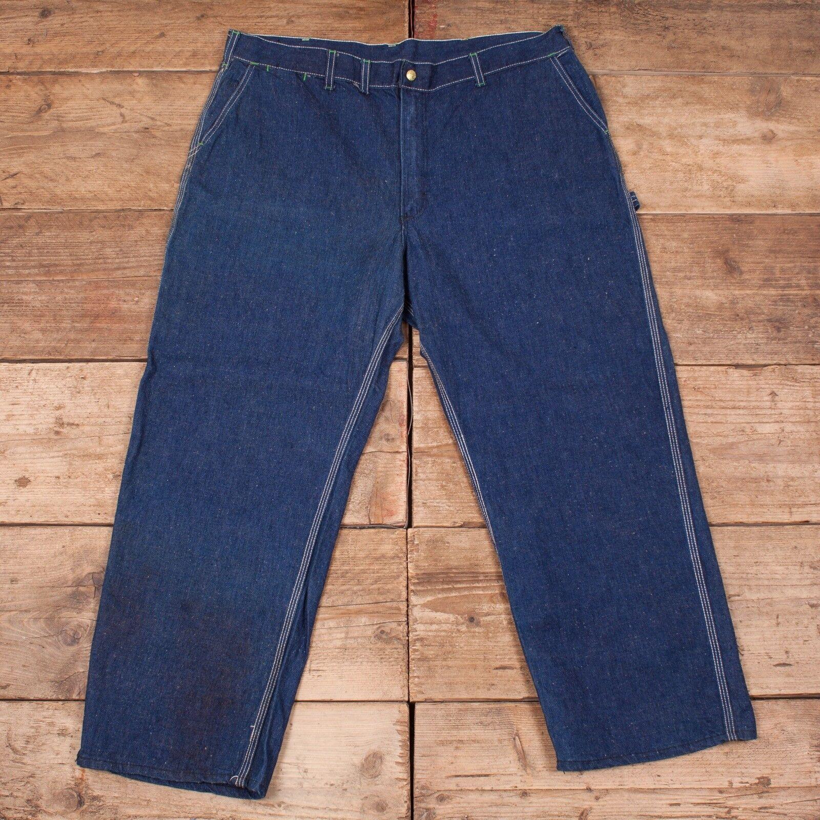 Da Uomo Vintage OshKosh OshKosh OshKosh B 'gosh Jeans Denim blu sanforizzato Talon 42  x 29  XR 8309 635847