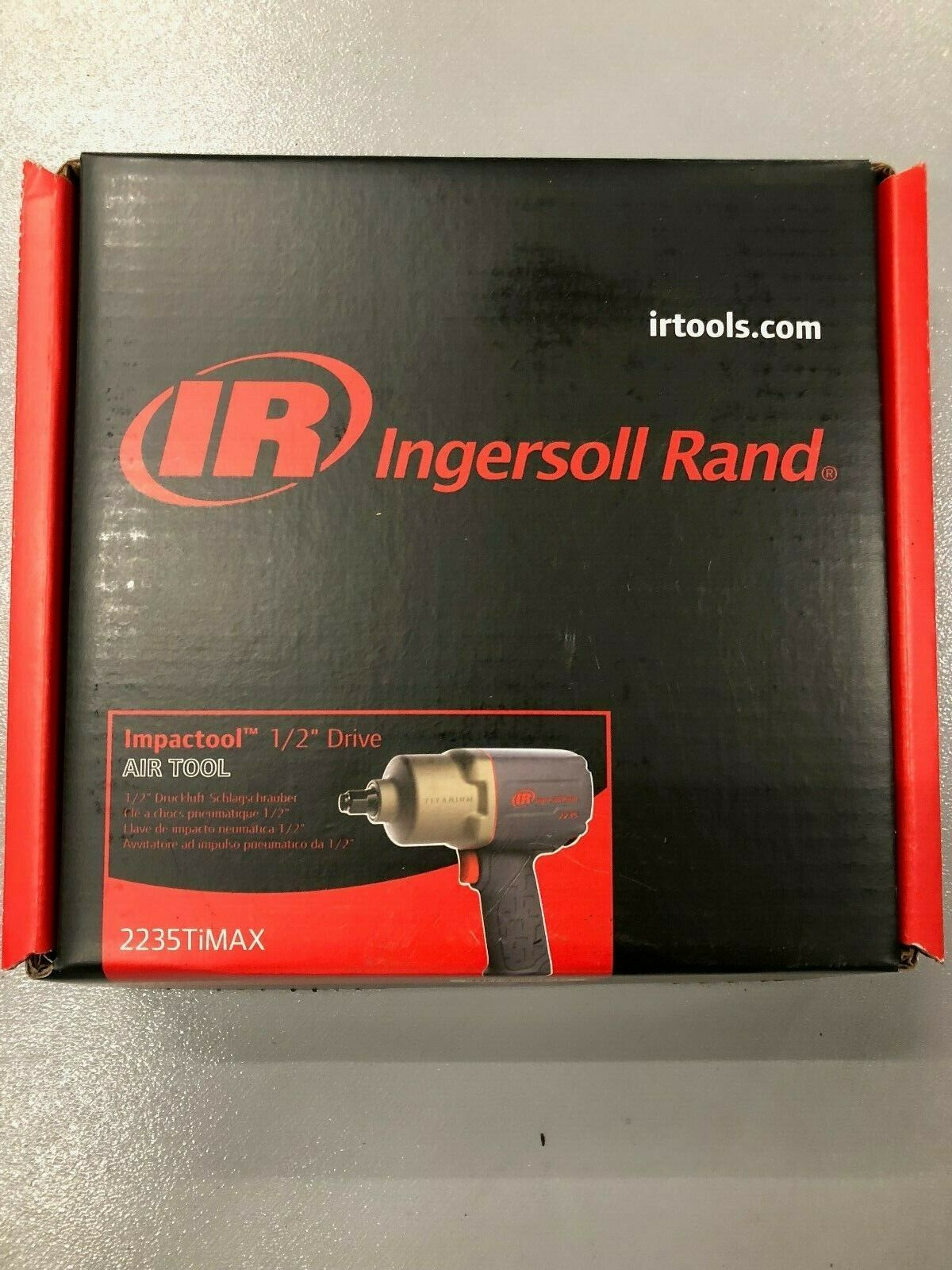 Ingersoll Rand (2235TIMAX) 1/2 Drive Air Impact Wrench. Buy it now for 265.00