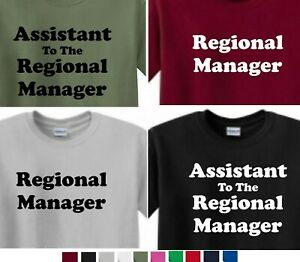 Assistant-To-The-Regional-Manager-or-Regional-MANAGER-T-shirt-The-office