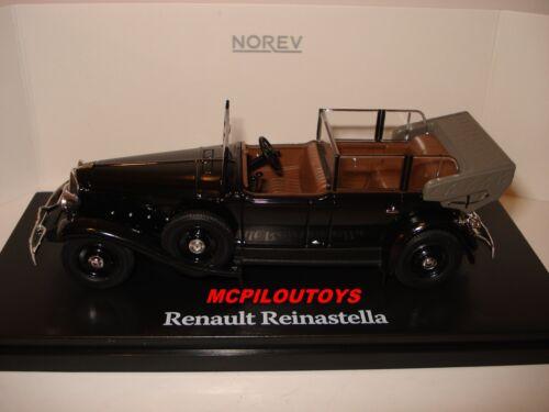 NOREV RENAULT REINASTELLA  PRESIDENTIELLE ALBERT LEBRUN 1936 au 1//43°