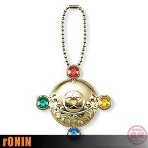HENSHIN-BROOCH-Sailor-Moon-MINIATURELY-TABLET-4-Keychain-BANDAI-Portachiavi