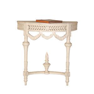 konsole endang landhaus stil holz vintage look wei wandkonsole 634480553697 ebay. Black Bedroom Furniture Sets. Home Design Ideas