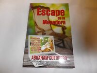 Escape De La Mecedora Abraham Guerrero Import/ Spanish -sales For $11.99 A