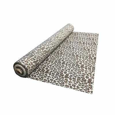 tessuto al metro in COTONE MACULATO chiaro leopardato leopardo animalier leggero