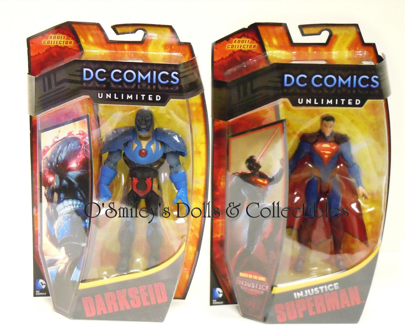 Dc comics unbegrenzte ungerechtigkeit götter unter uns superman & darkseid set_matty_sealed