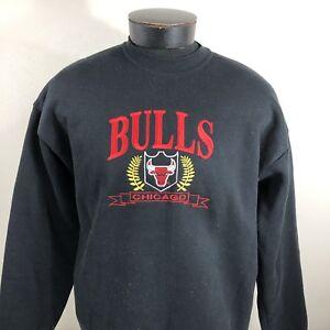 La foto se está cargando Vintage-Chicago-bulls-sudadera-de-cuello-redondo -con- 9b833c9bfa7
