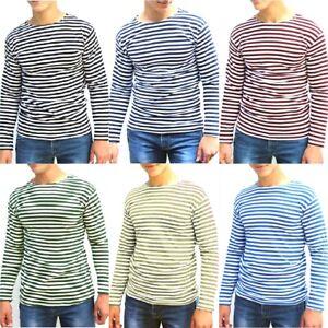 Russian-Telnyashka-Long-Sleeve-Summer-Military-T-shirt-Assorted-Sizes-And-Colors