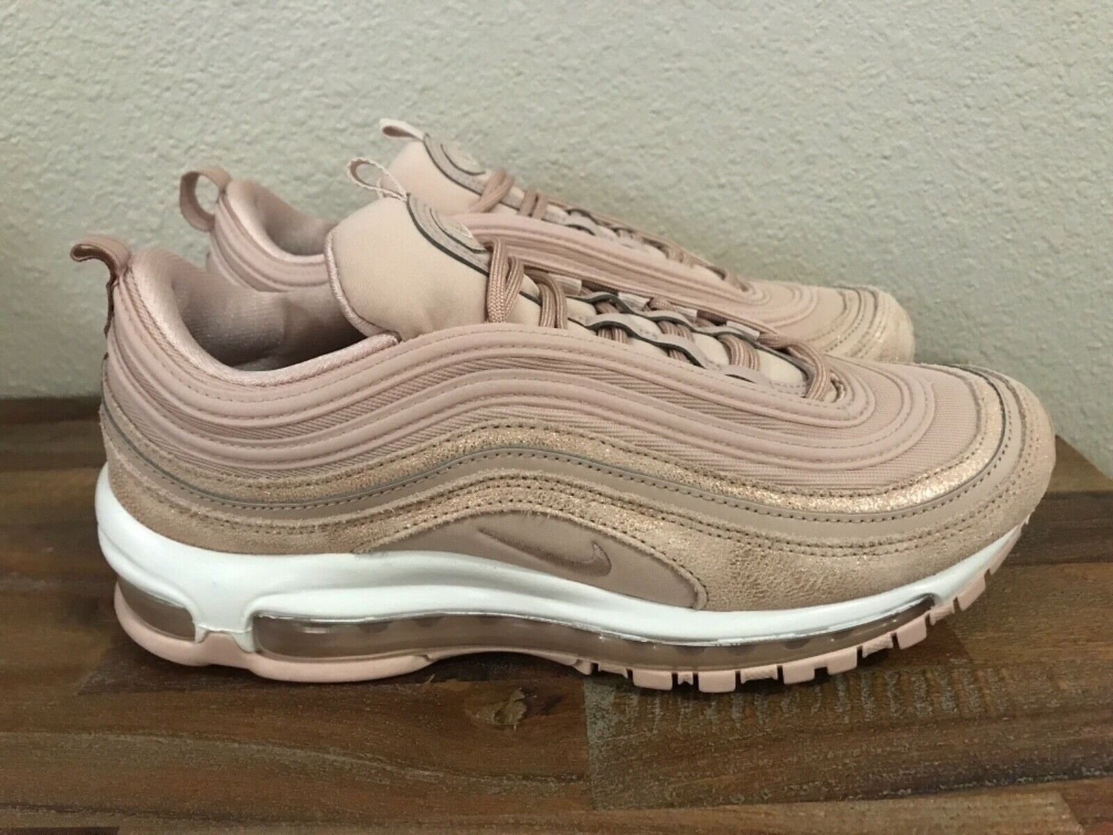 Nike Air Max 97 Beige Pink Light Bone Women Shoes [921733