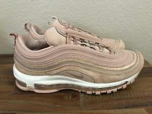 detailing 35103 45217 Details about WMNS Nike Air Max 97 SE Shoes Particle Beige Rose Gold Bronze  AV8198-200 Sz 9.5