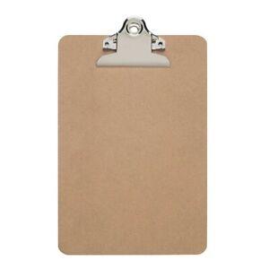 Maul Klemmbrett Schreibplatte DIN A5 Hartfaser Schreibbrett Schreibunterlage