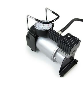 12v elektrische luftpumpe kompressor auto pkw fahrrad ball. Black Bedroom Furniture Sets. Home Design Ideas