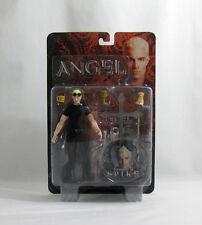 "NEW 2004 Buffy Vampire Slayer ✧ SPIKE ✧ Season 5 Vintage 6"" Angel Figure MOC"