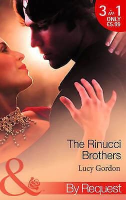 The Rinucci Brothers (Mills & Boon by Request), Gordon, Lucy, Very Good Book