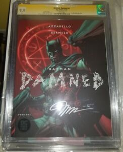 BATMAN DAMNED #1 Jim Lee Variant CGC SS 9.9 Signed by Jim Lee IN HAND! WOW MINT!