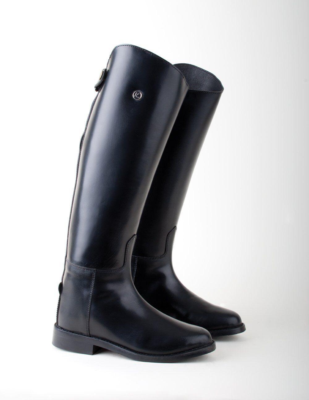 Nuevas botas de montar a caballo de larga olímpico-mostrando, Doma, Nuevo-Oferta Especial Precio