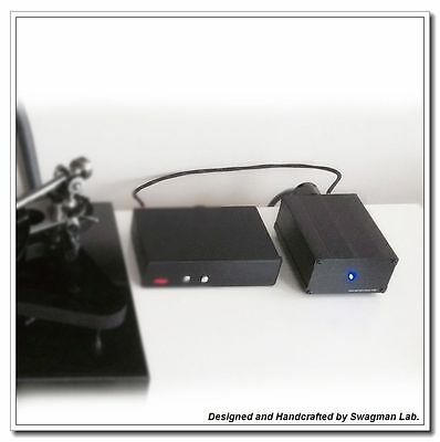 Upgrade Audiophile Power Supply for Rega Turntables TT-PSU by 24VAC RP6
