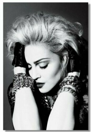 Madonna Art Wall Cloth Poster Print 224