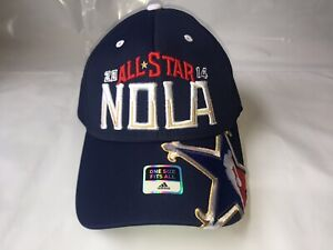 NEW-Adidas-Official-2014-NBA-All-Star-Weekend-Hat-NOLA-Zion-Williams-Embroidered