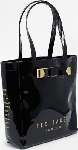 BRAND NEW Ted Baker LONDON Small Black TOTE Shopper Bag