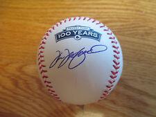 TIM WAKEFIELD signed BOSTON RED SOX 100th Anniversary FENWAY PARK Baseball COA