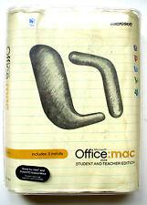 Microsoft Office 2004: MAC Student Teacher Edition-3 Keys-WORD POWERPOINT EXCEL