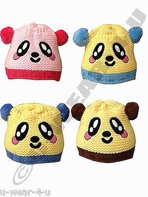 Acquista A Buon Mercato Children's Carino Qualità Realizzata A Mano Animale Cappelli Invernale Doppio Foderato Bambino Bambina Kids-