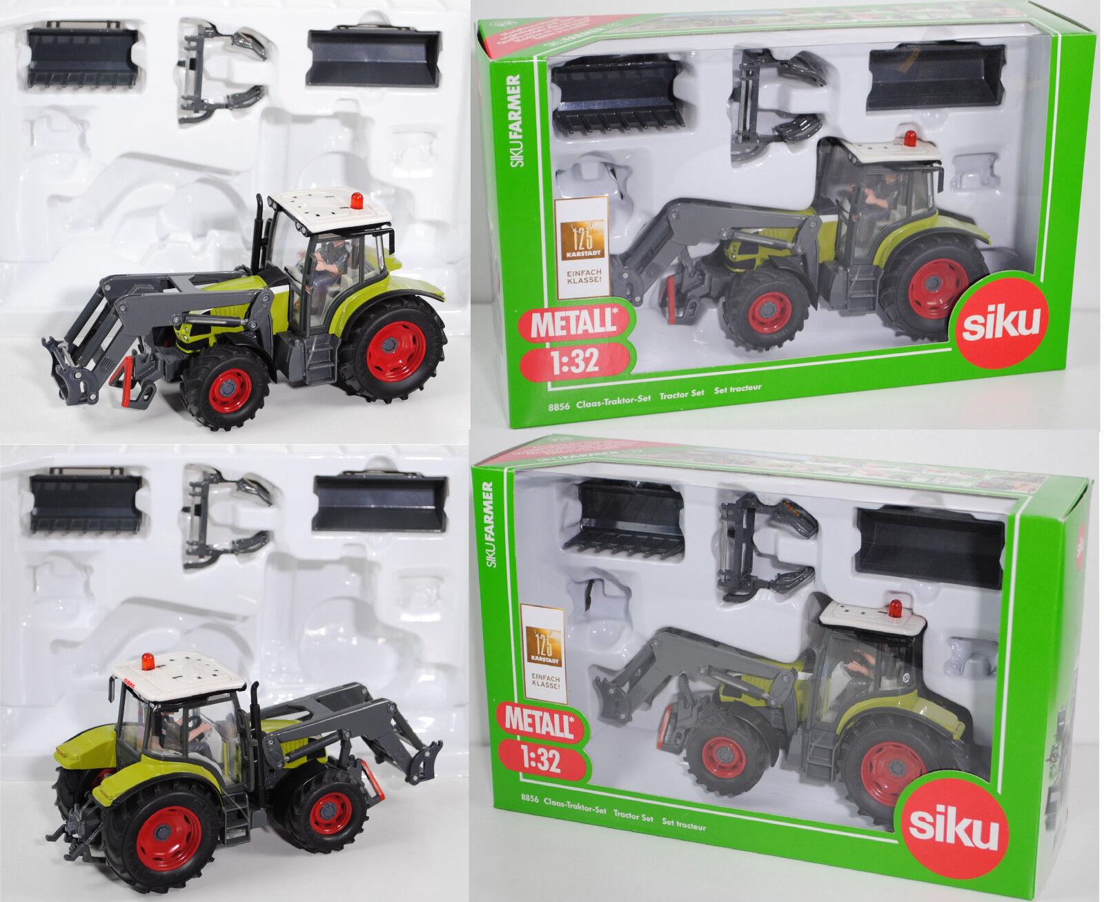 SIKU 8856 CLAAS-Tracteur-Set,  1 32, NEUF dans sa boîte  centre commercial professionnel intégré en ligne