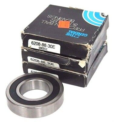 NEW THE GENERAL BEARING 6208-88-30E 62082RS