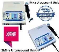 Latest Combo Ultrasound Therapy 1mhz Amp 3mhz Unit Ultrasound Therasonic Machine